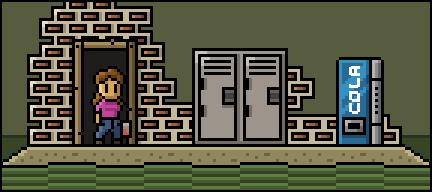 Step through the door