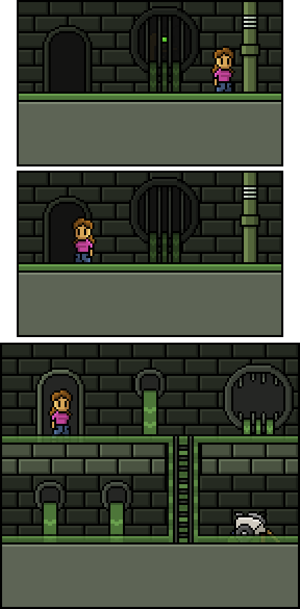 Explore the sewer